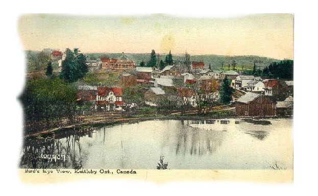 kettleby old postcard