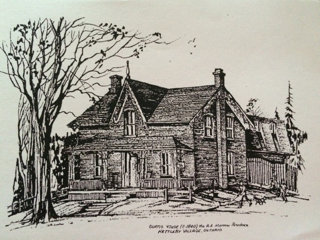 Curtis House Drawing Kettleby