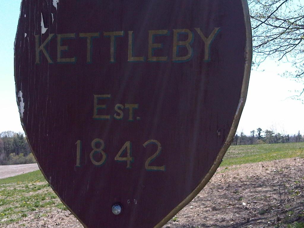 Kettleby 1842 sign